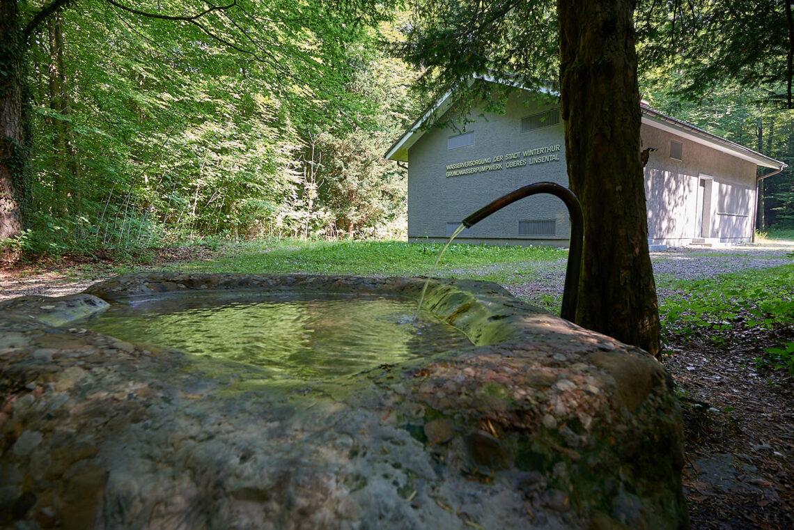 Trinkwasserfassung Leisental