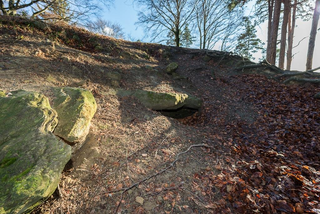 Stelle der eingestürzten Schuppentännlihöhle