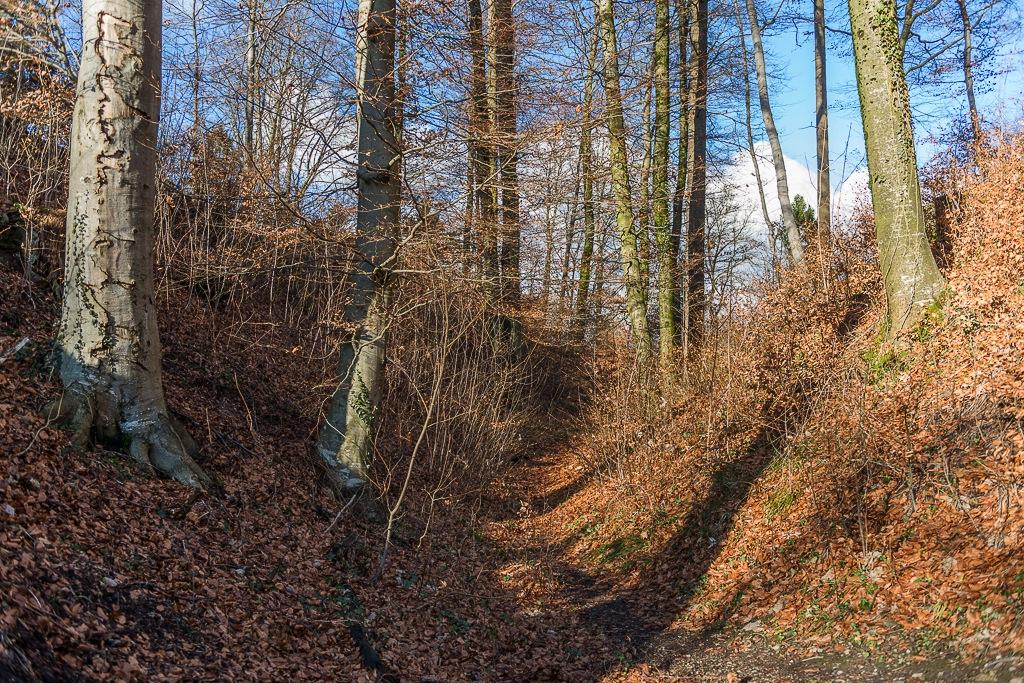 Burggraben im Westen